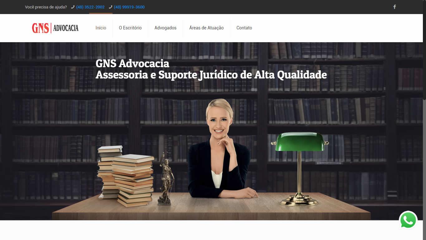 Construlinks Agência Digital - Clientes - GNS Advocacia