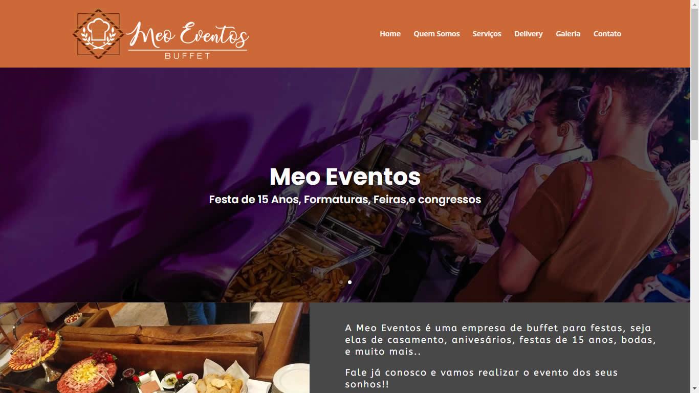 Construlinks Agência Digital - Clientes - MEO Eventos