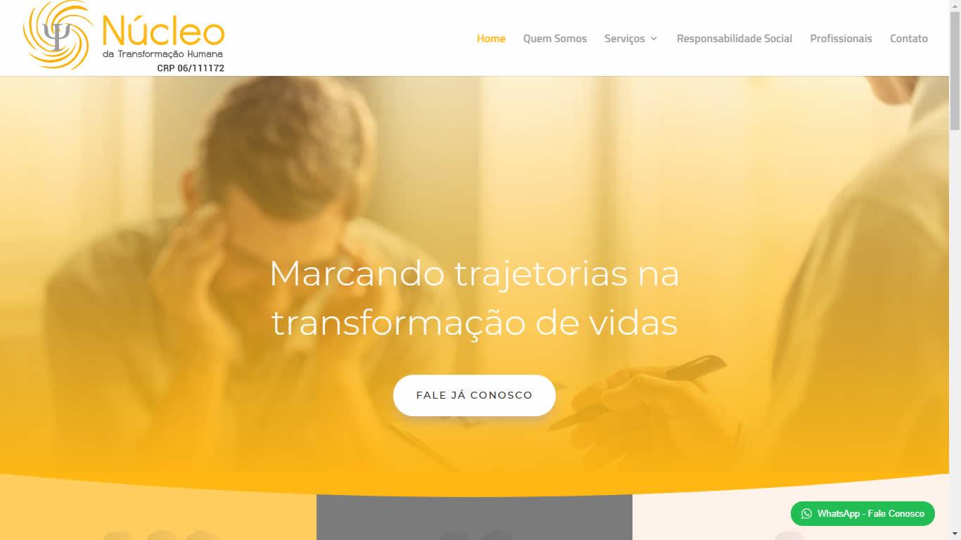 Construlinks Agência Digital - Clientes - Núcleo da Transformação Humana