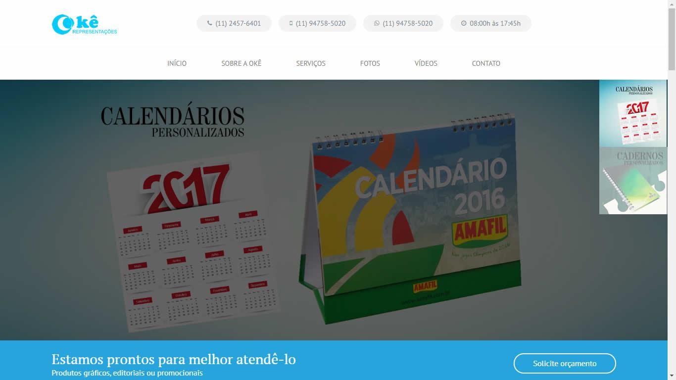 Construlinks Agência Digital - Clientes - Okê Representações