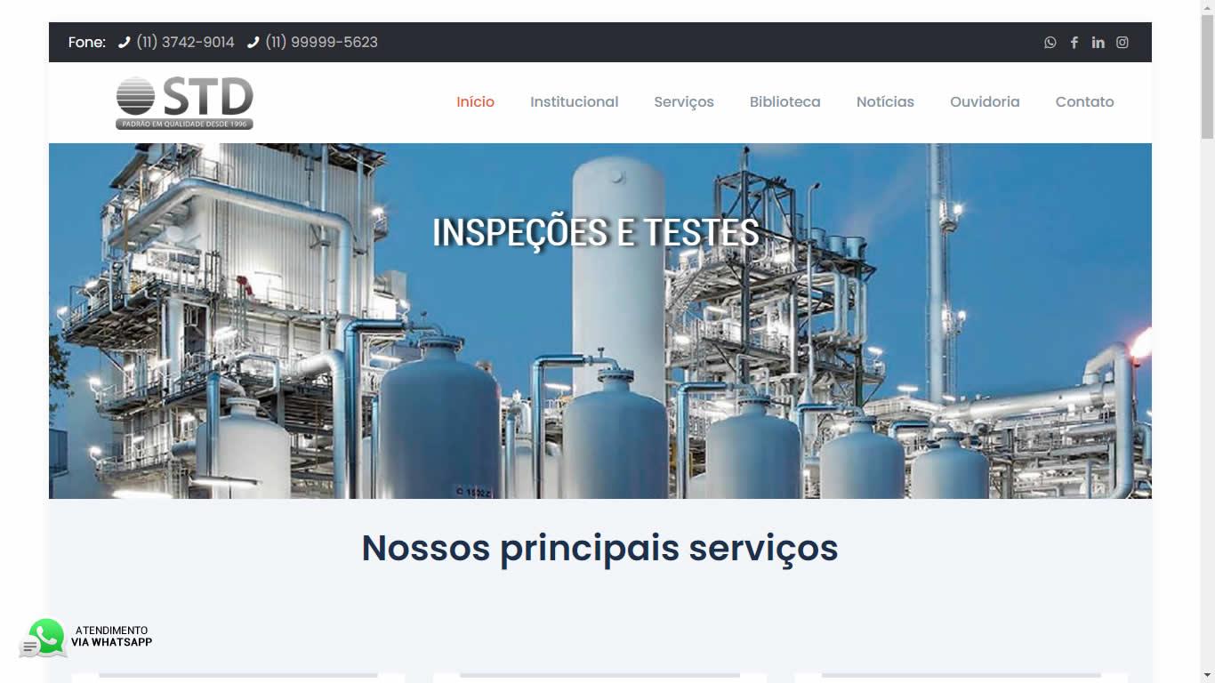 Construlinks Agência Digital - Clientes - STD Engenharia